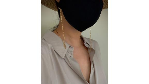 SweetDalda Gold Box Chain for Mask