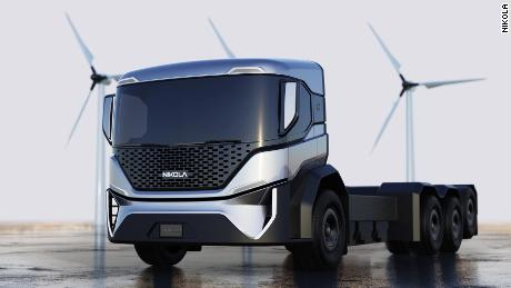 Nikola's deal to mass produce garbage trucks (pictured) for one of the nation's largest waste management companies was officially canceled on December 23, 2020.