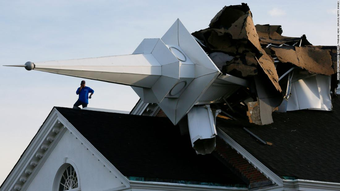 Derecho moves southeast after storms leave more than 1 million without power overnight