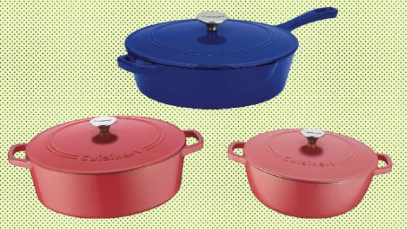 Cuisinart cast-iron cookare