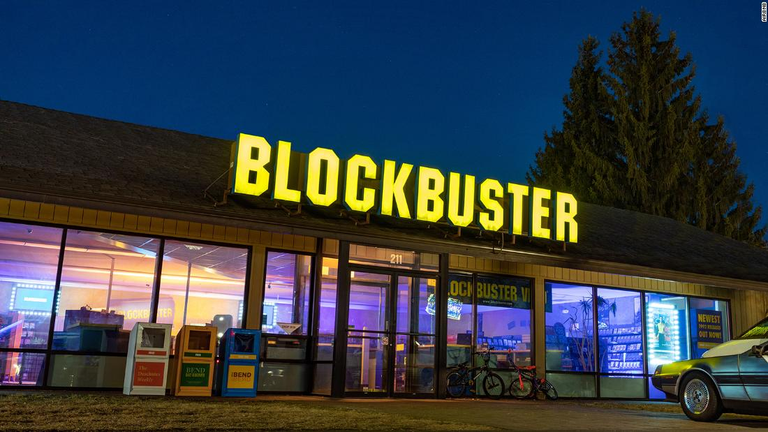 Now this is a Blockbuster Airbnb