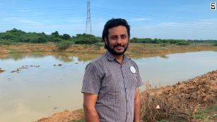 从Google到垃圾处理:环保主义者清理印度的湖泊