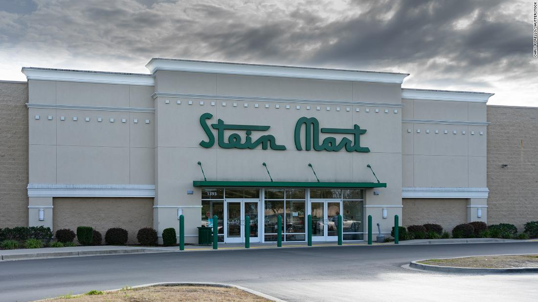Stein Mart files for bankruptcy and will close most of its 300 stores – CNN