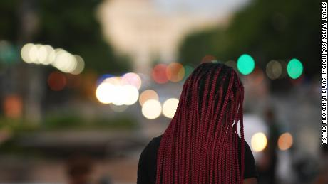 Black women with braids were considered less professional by participants in the research.