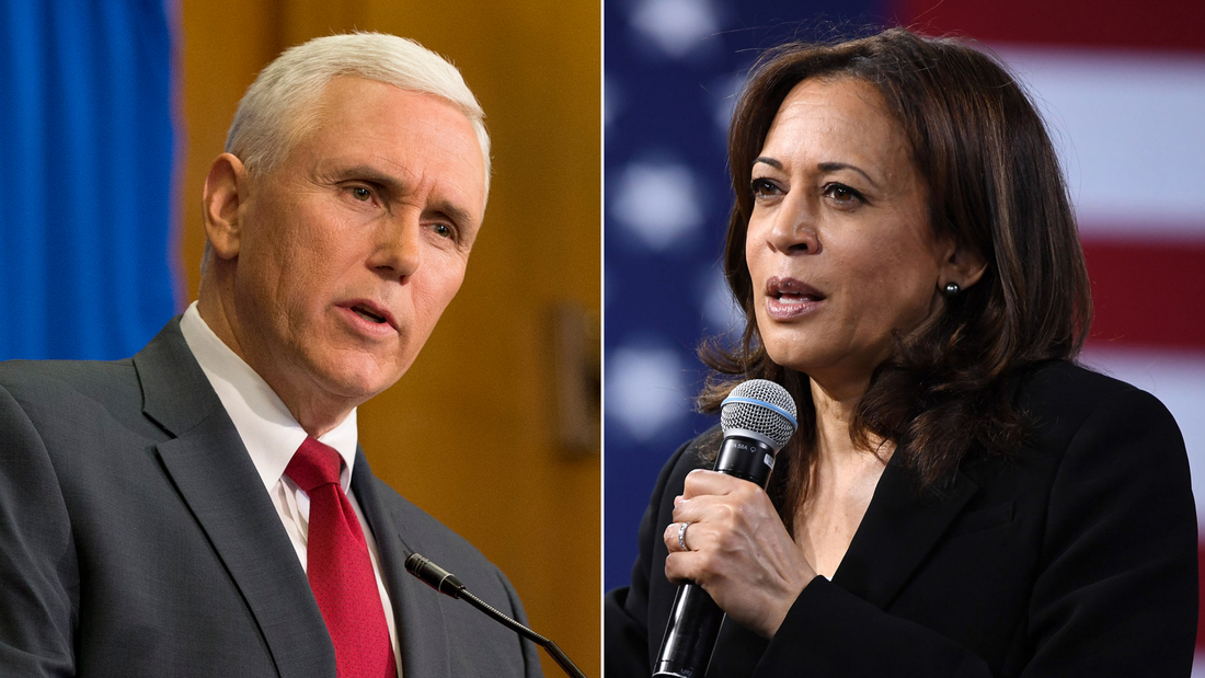 Image for Kamala Harris rips Trump administration's response to coronavirus pandemic in only debate with Mike Pence