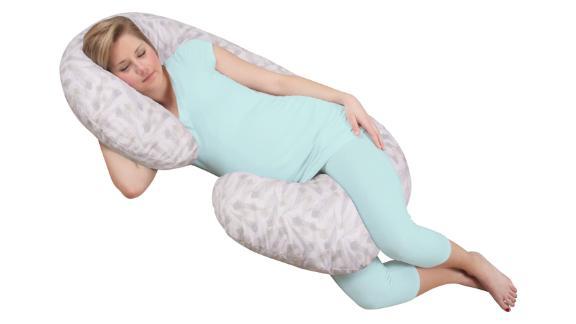 Almohada de apoyo al embarazo de cuerpo completo Snoogle Chic