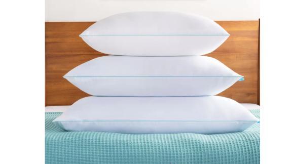 Almohada de refrigeración de soporte medio de espuma de memoria triturada en casa Alwyncada