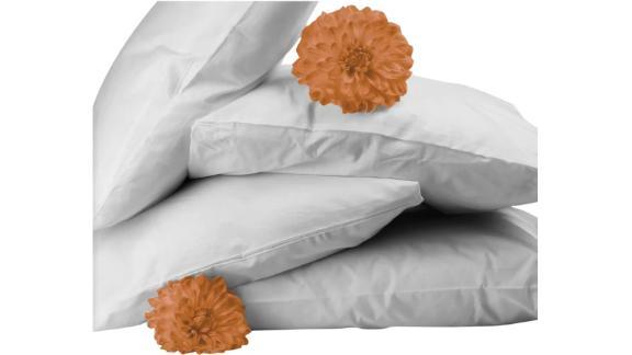 Almohadas estándar de plumas y plumón Bicor, paquete de 4