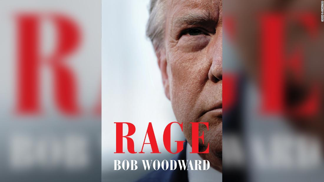 Details, title and cover revealed for Bob Woodward's upcoming book on Trump