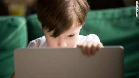 Children of all ages are spending more time gazing at screens.