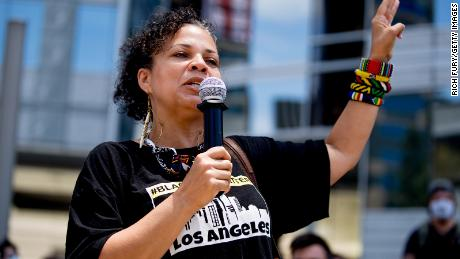 Melina Abdullah is the co-founder of Black Lives Matter Los Angeles.
