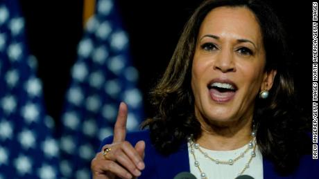 Election 2020 Kamala Harris Is A Hit With Voters So Far Cnnpolitics