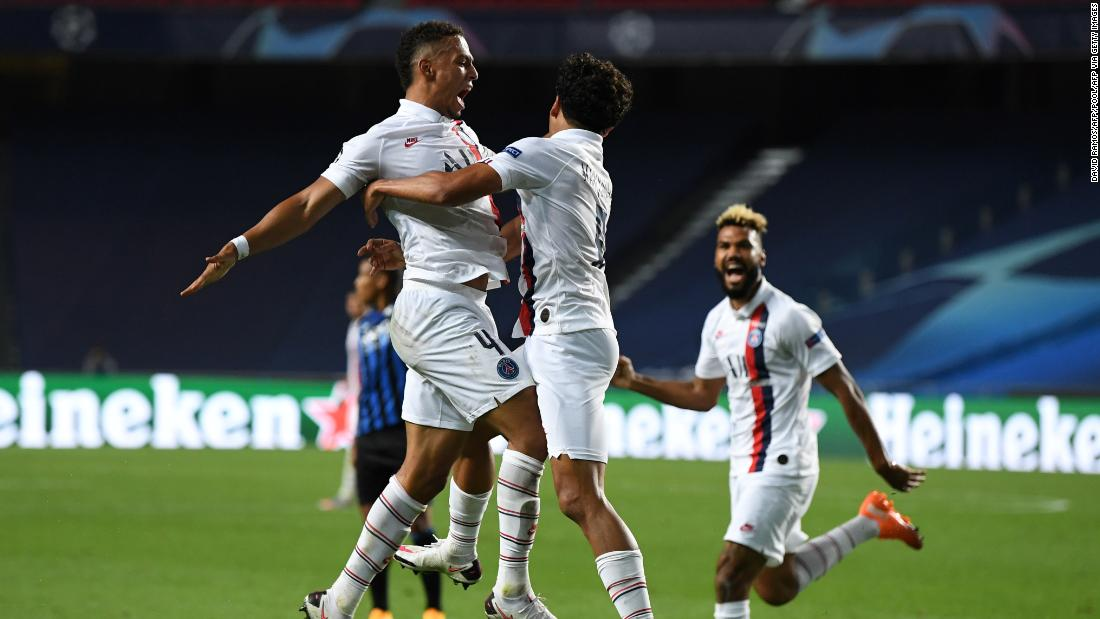 PSG delivers stunning Champions League comeback in stoppage time