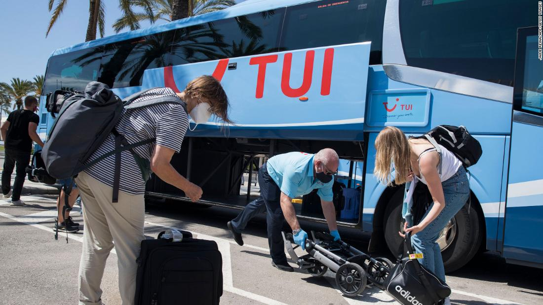 TUI's bookings show collapse in European travel 59