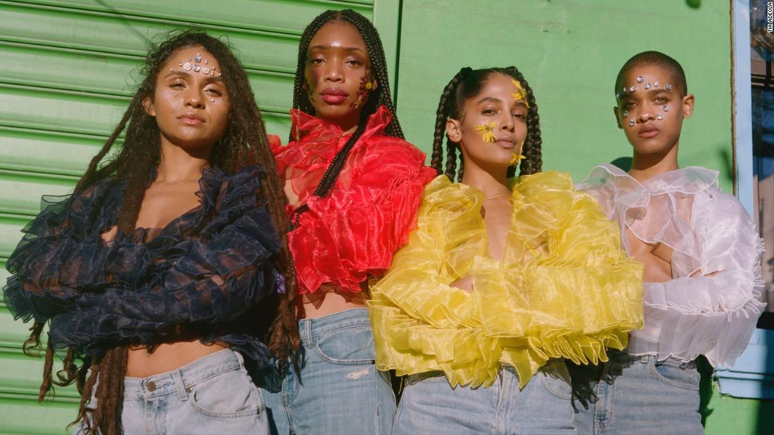The young designer subverting the ruffle to empower women