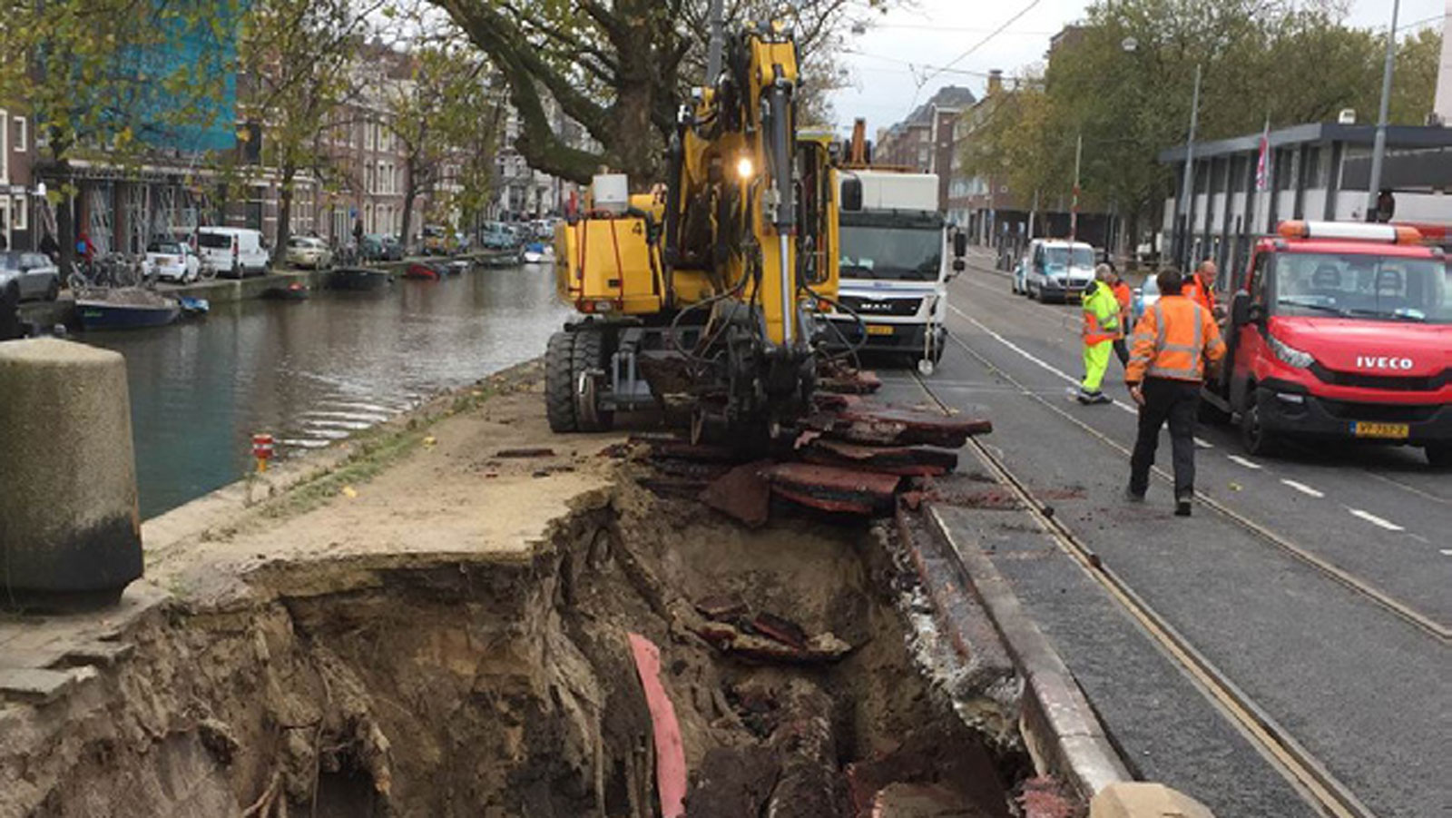 Amsterdam has been collapsing for years. Now it's paying the price ...