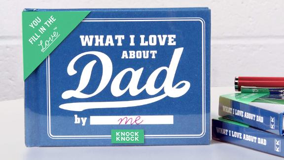 Knock Knock What I Love about Dad Fill-in-the-Blank Gift Journal
