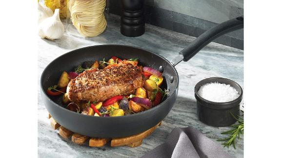 T-fal Ultimate Hard Anodized Nonstick Fry Pan With Lid