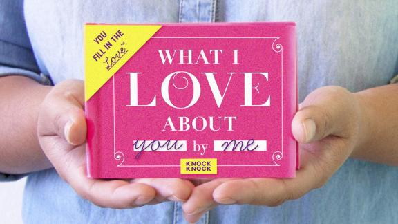 Knock Knock What I Love About You Fill-in-the-Blank Gift Journal