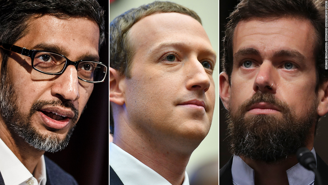 Conservatives push to discredit Facebook, Twitter and Google just days before the election