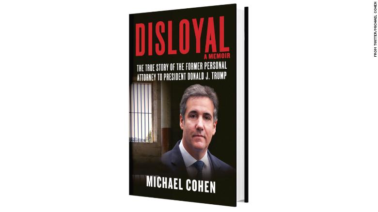 Michael Cohen releases part of his book
