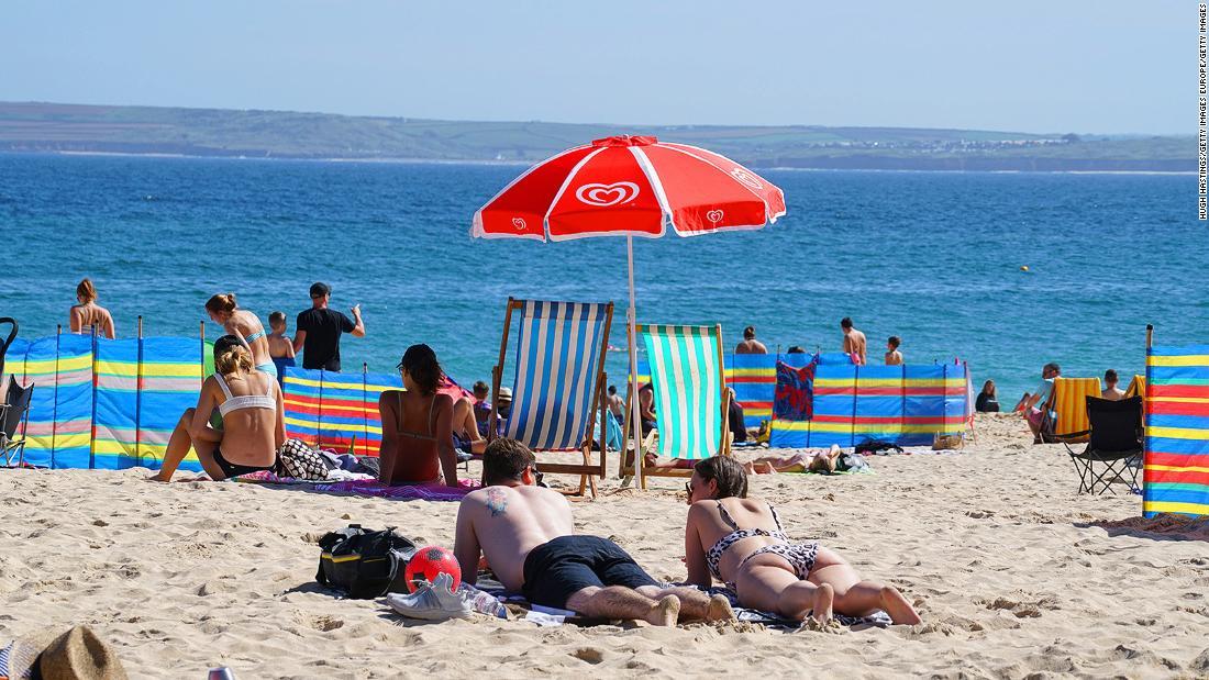 England opens 'green' travel list, Capri goes 'Covid-free'