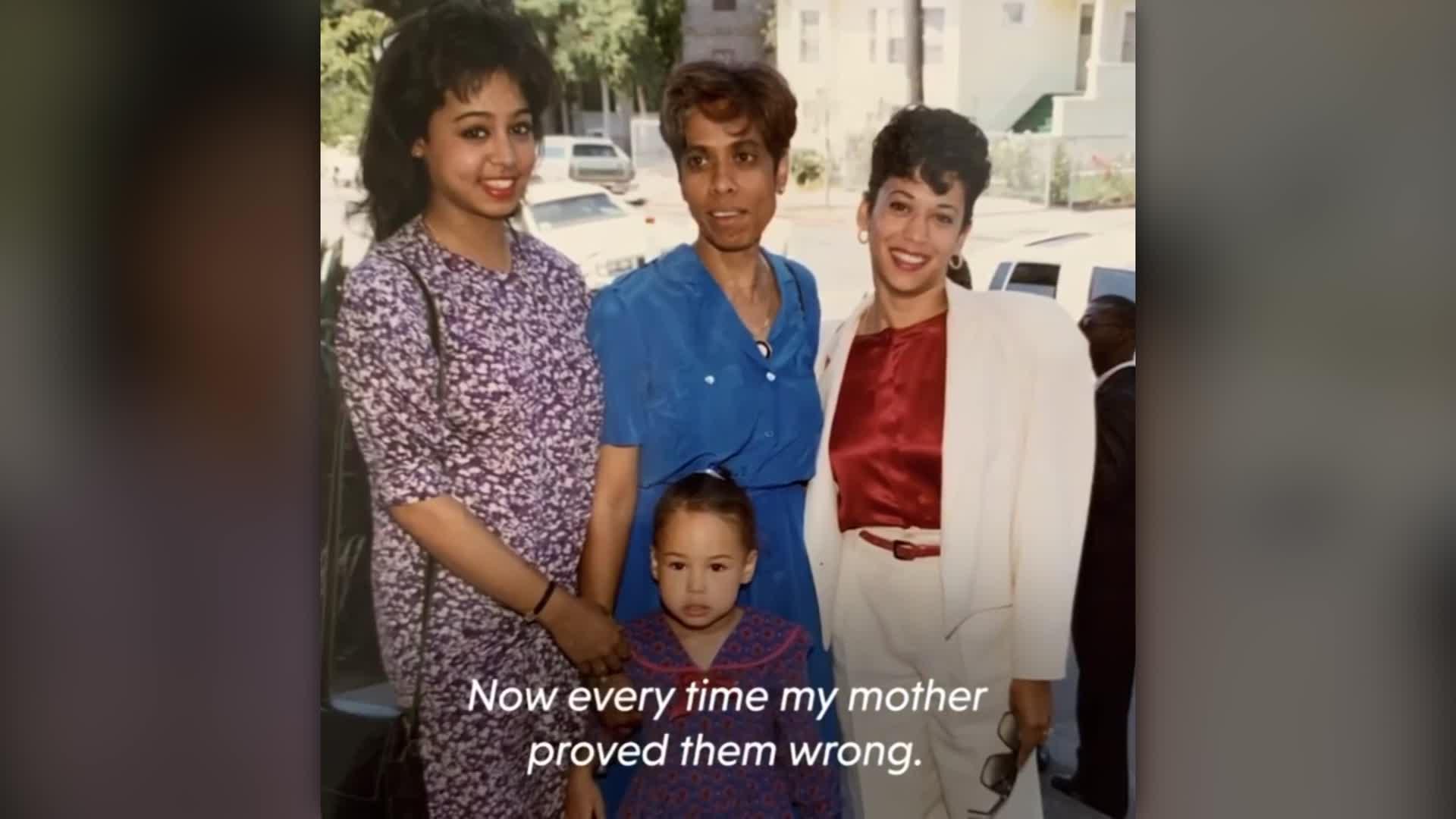 Kamala Harris Diverse Family Heritage Cnn Video
