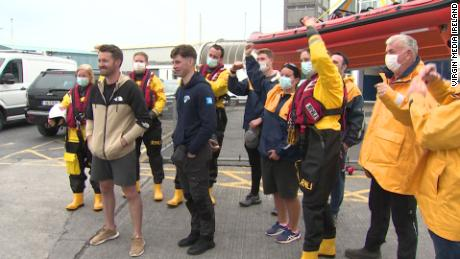 Irish fishermen rescue 2 paddleboarders missing at sea for 15 hours