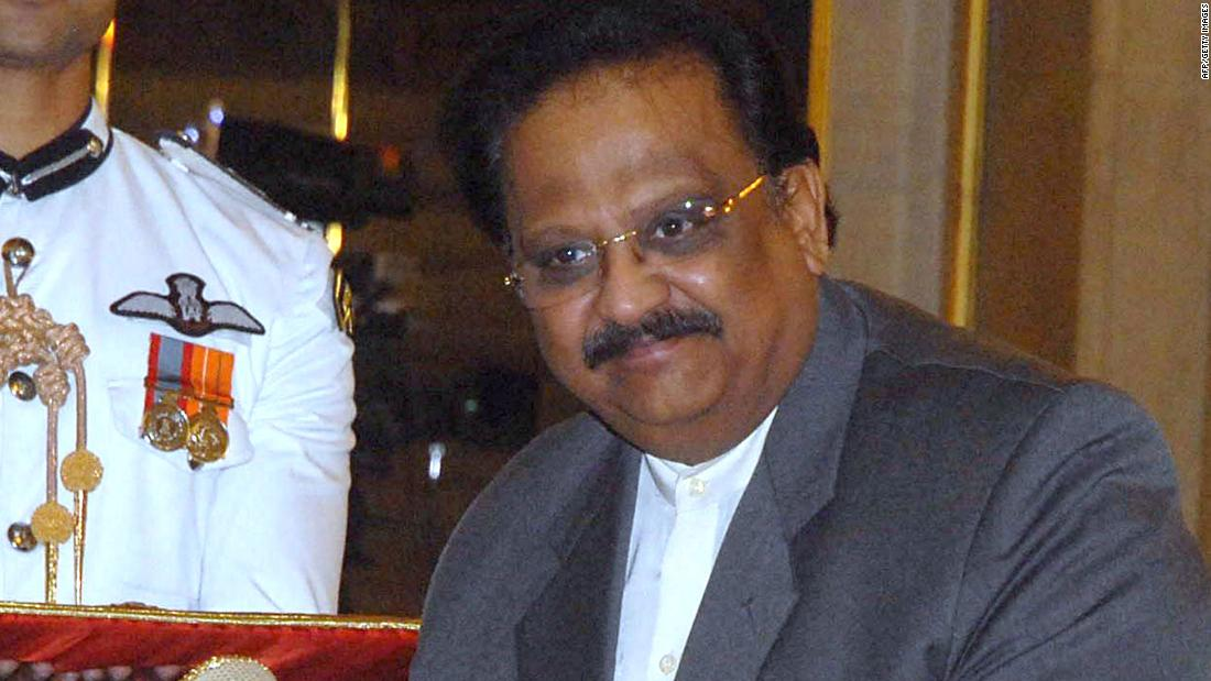 SP Balasubrahmanyam, famed Indian film musician, dies from Covid 19 aged 74