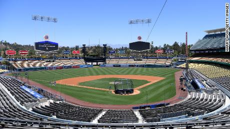 Efforts are underway to turn Dodger Stadium in Los Angeles into a poling place for the 2020 election.