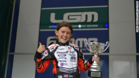 ella stevens karting f1