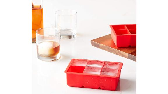 Tovolo King Craft Ice Mold Freezer Tray of 2-Inch Cubes