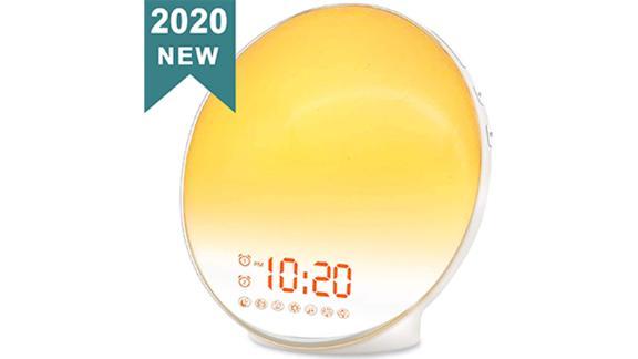 Jall Wake-Up Light Sunrise Alarm Clock for Kids
