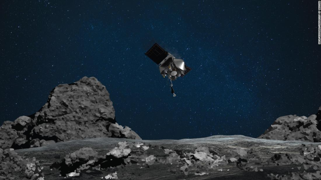NASA's OSIRIS-REx mission prepares for touchdown on an asteroid - Armenian Reporter
