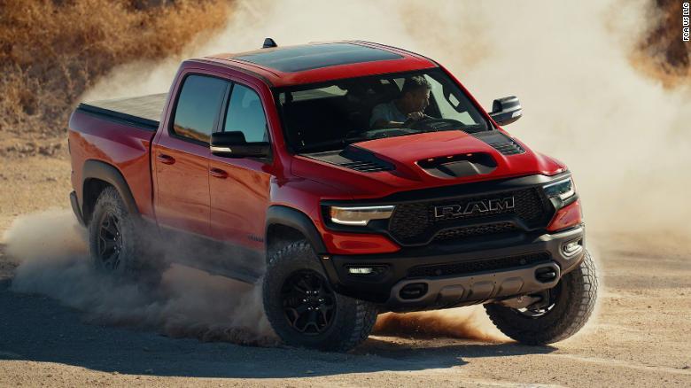 Fiat Chrysler S New Ram 1500 Trx Will Be The Quickest Pickup Truck Ever Cnn