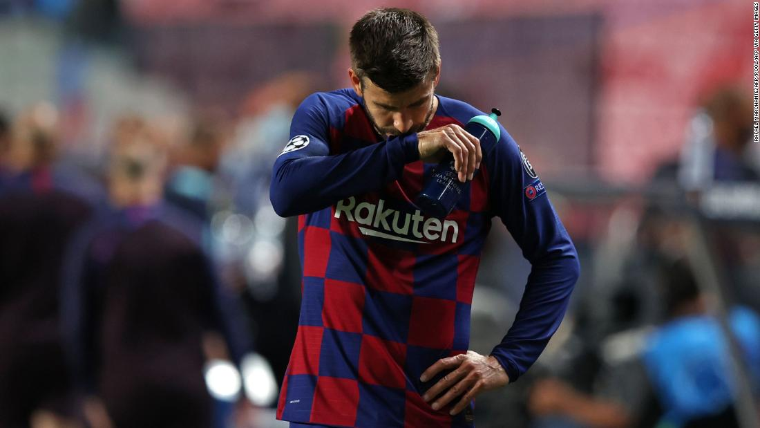 Barcelona dropped from Champions League in historic loss