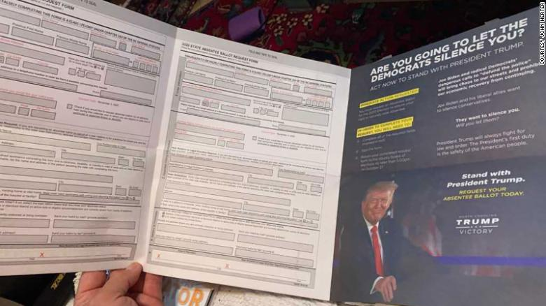 This is the mailer some North Carolina voters received this week.