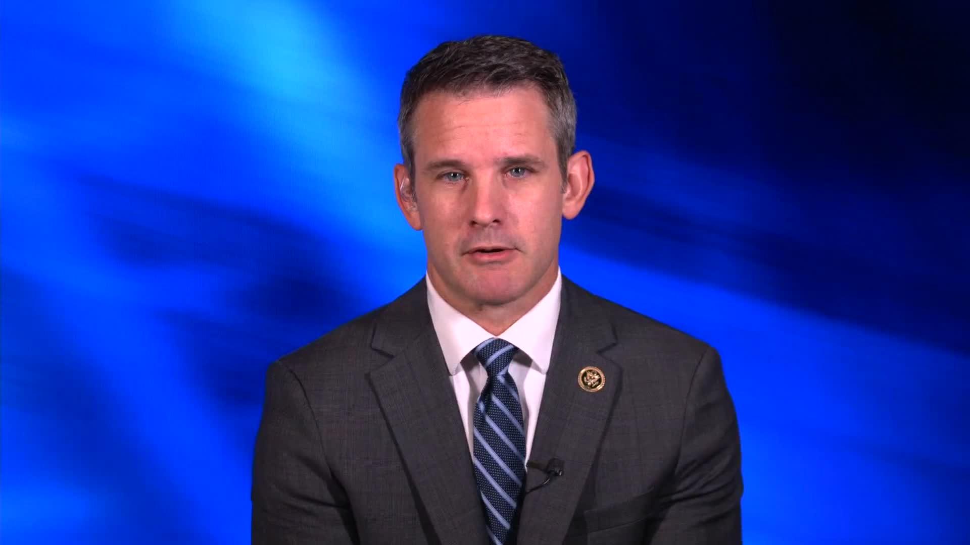GOP congressman Adam Kinzinger takes a stand against QAnon - CNN Video