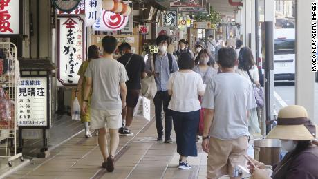 Japan suffers worst GDP fall on record, but it fared better than others