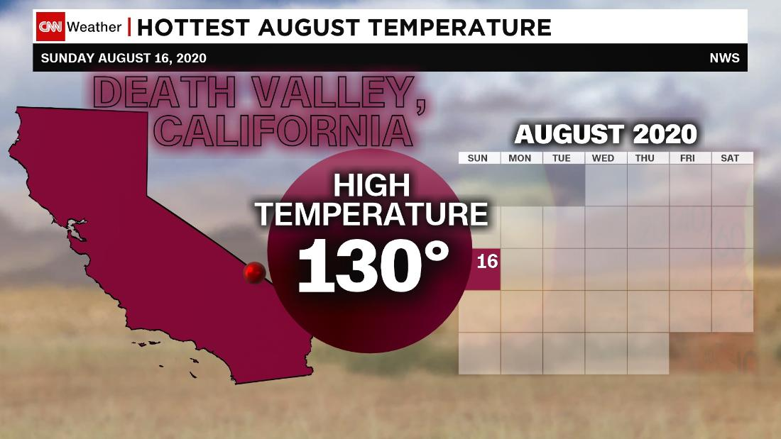 Death Valley has hottest temperature on Earth – CNN