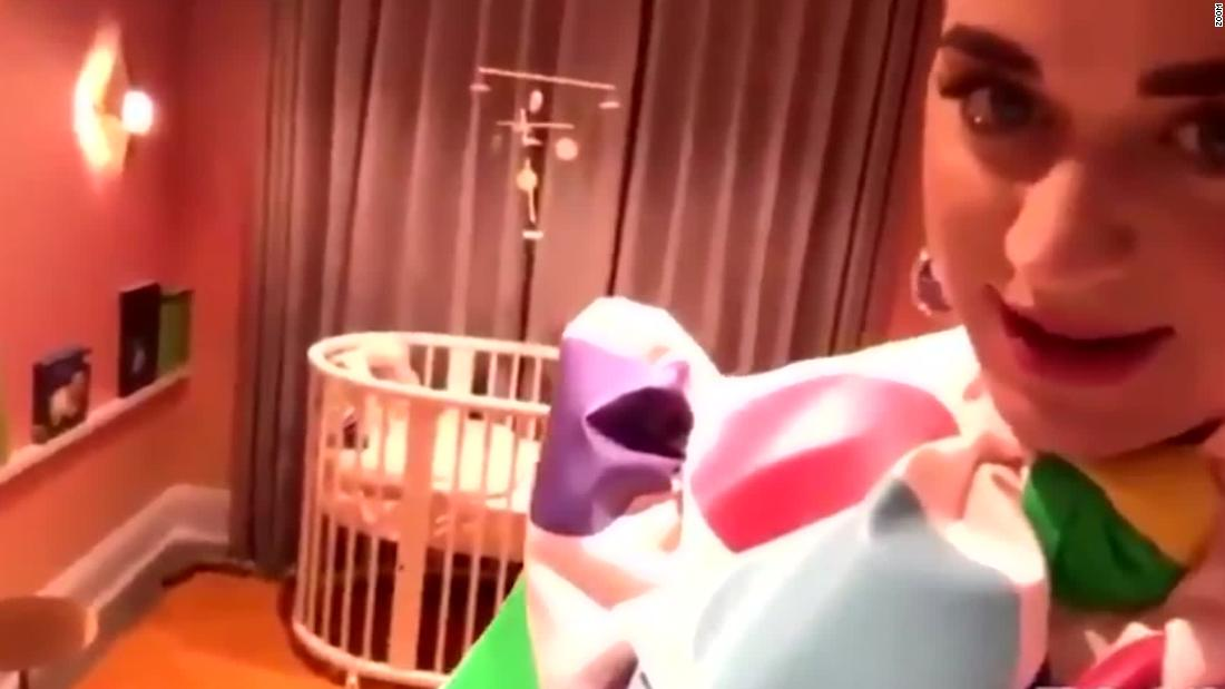 Katy Perry Gives Tour Of Baby Nursery Cnn
