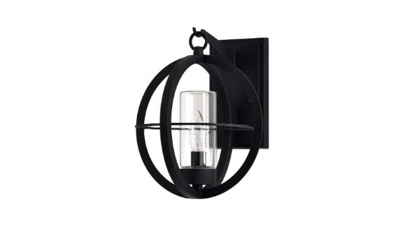 Vaughan Black Outdoor Wall Lantern
