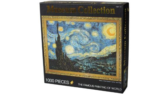 Moruska Starry Night by Vincent Van Gogh 1,000-piece Jigsaw Puzzle
