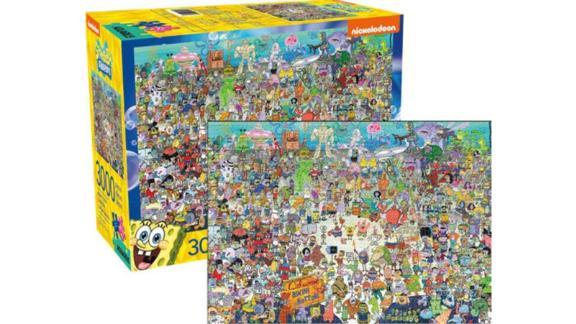 SpongeBob SquarePants 3,000-Piece Jigsaw Puzzle