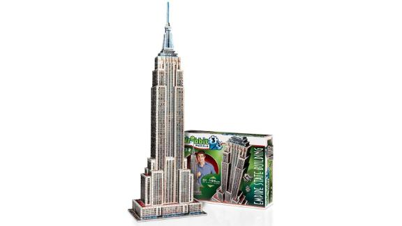 Wrebbit Empire State Building 3D Jigsaw Puzzle, 975 pieces