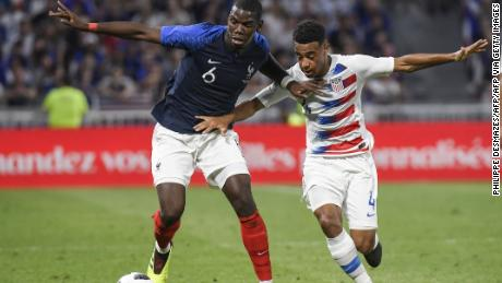 Despite being only 21, Adams has played for the US national soccer team since 2017.