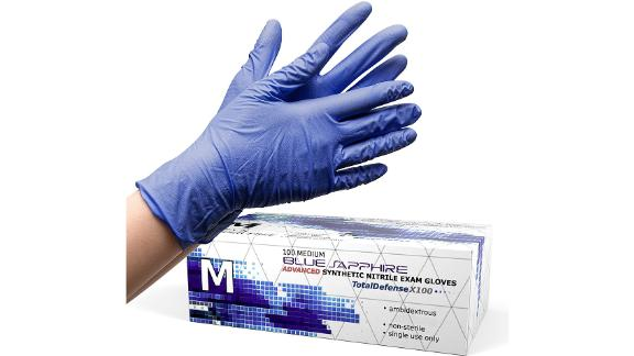 Dre Health Powder-Free Disposable Gloves, 100-Pack