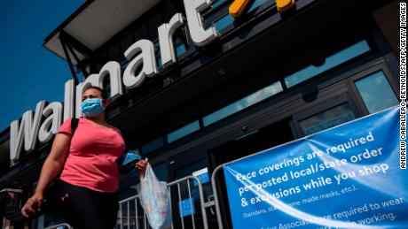 Walmart sales boosted by stimulus spending