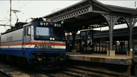 Amtrak Christmas Train 2020 Democratic National Convention features Joe Biden and Amtrak