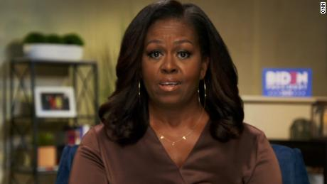'It's up to us.' Michelle Obama's emotional call to action